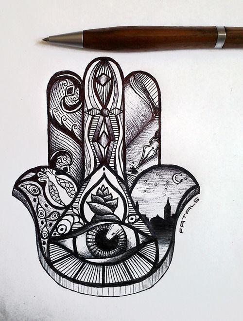 Mano de fatima es una imagen simbólica por que tiene un significado en la realidad y tiene