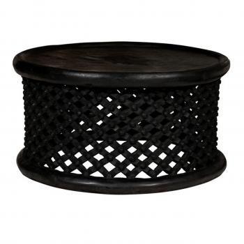Bamileke king stool as a coffee table!