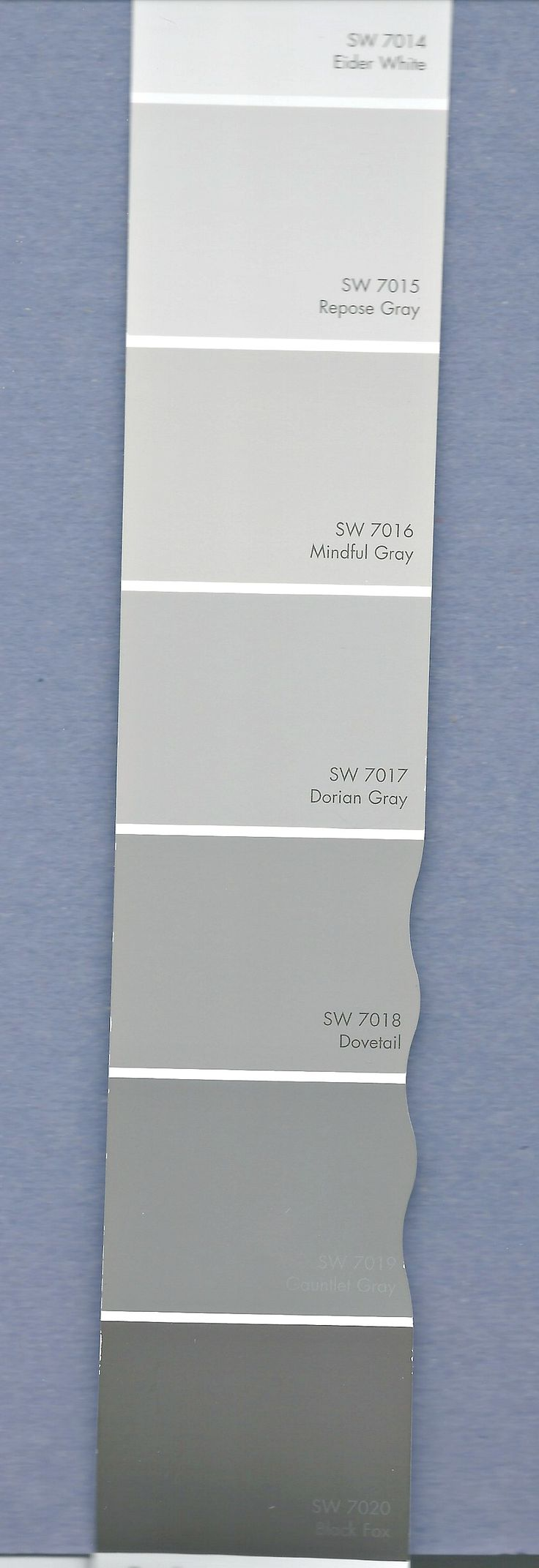 Working off of one paint color strip throughout a home.