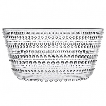 Kastehelmi bowl 1,9 L, clear
