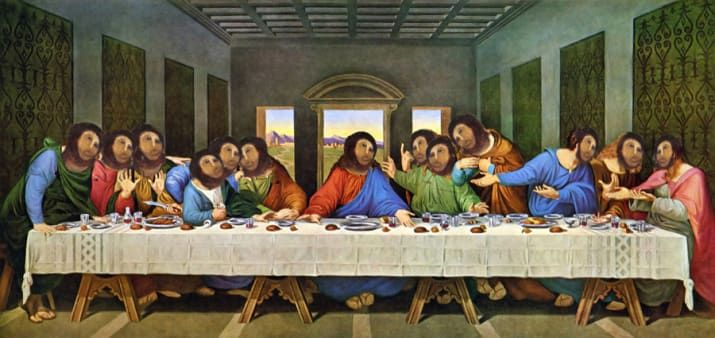 "55 Pop Culture Parodies Of ""The Last Supper"""