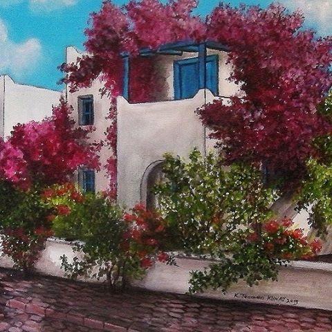 Bodrum evleri #yağlıboya #yağlıboyatablo #ressam #resim #bodrumbodrum #bodrumevleri #begonvil #traditional #bodrum #houses #ege #meditarranean #art #artist #sergi #design #elemeği #oilpainting #order #special #Turkey #instaart #instadaily #instamood #instagood #instafollow #instafashion #Turkey #kahramanteomankunay