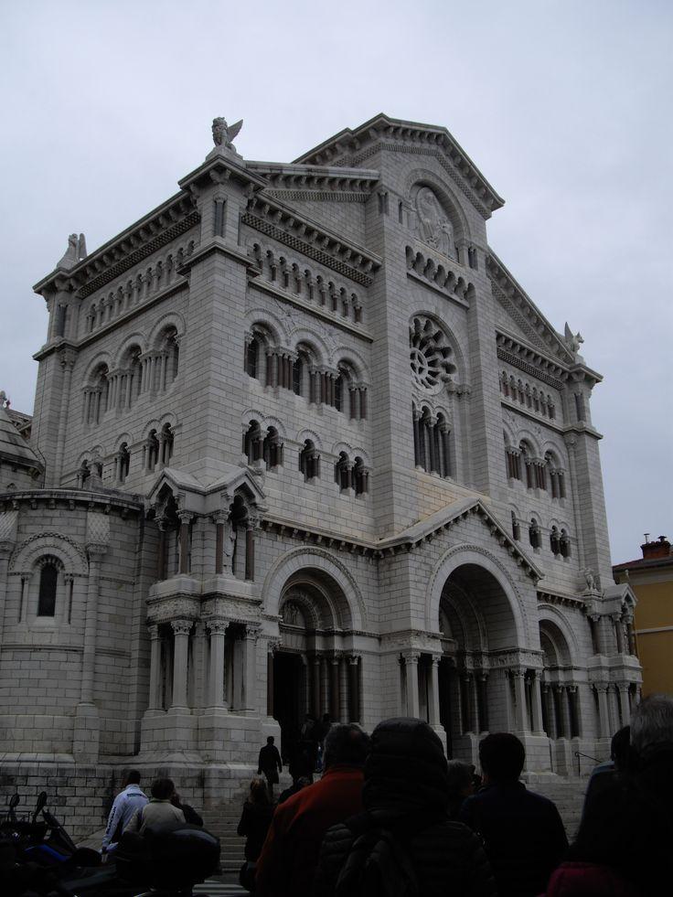 Monaco - Cathédrale Notre-Dame-Immaculée.  By Stefania Antonelli