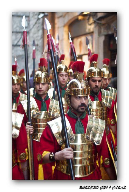MANAIES DE GIRONA  (Armats)    Catalonia   Semana Santa