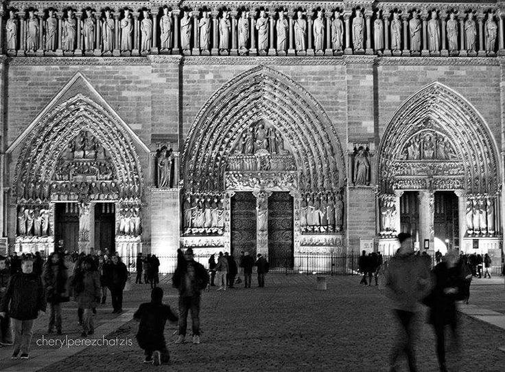 Notre Dame Cathedral,  Paris #notredame #notredameparis #Paris #bw_greece #bw_captures #allshots_bw #travel #travel_greece #team_greece #igworldclub #iglovers_gr #bwgram #blackwhitephotography #blackandwhite #bnwofinstagram #bnw_captures #bnw_society #ig_chiang_mai #ig_france #ig_paris #blancoynegro #monochrome #bw_photo