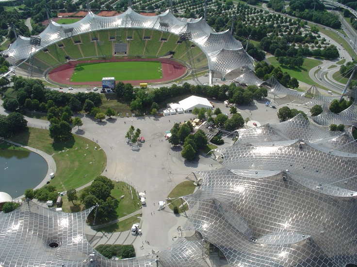 Olympiapark München . Olympic Stadium . Munich, Germany -- This was where we went in 2006 when the World Cup was going on! It was so much fun!