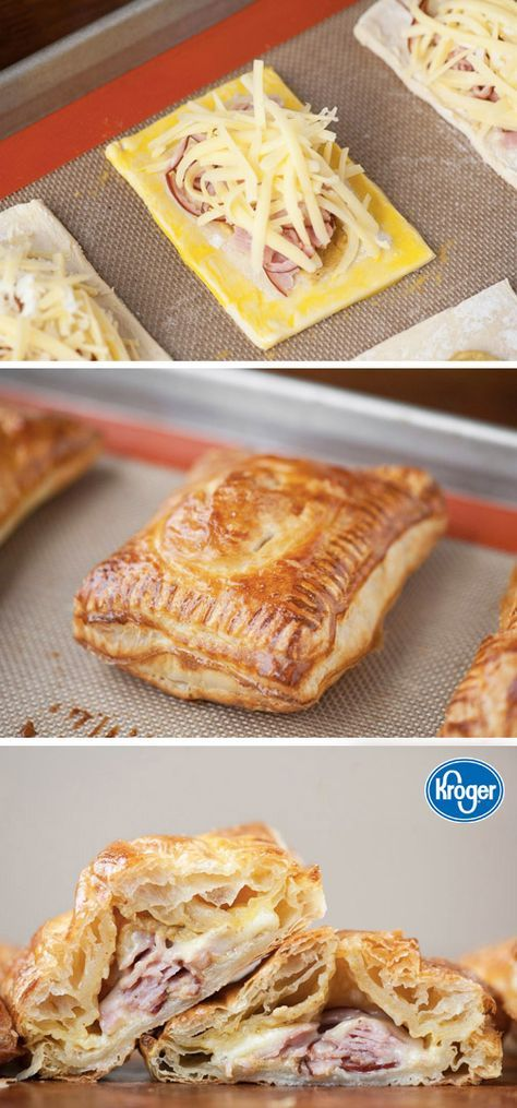 Inspired Gathering has the perfect kid-friendly dish for any occasion—it's these Easy Ham and Cheese Pocket Sandwiches. Once you see this recipe you'll be amazed at how easy and delicious they are.