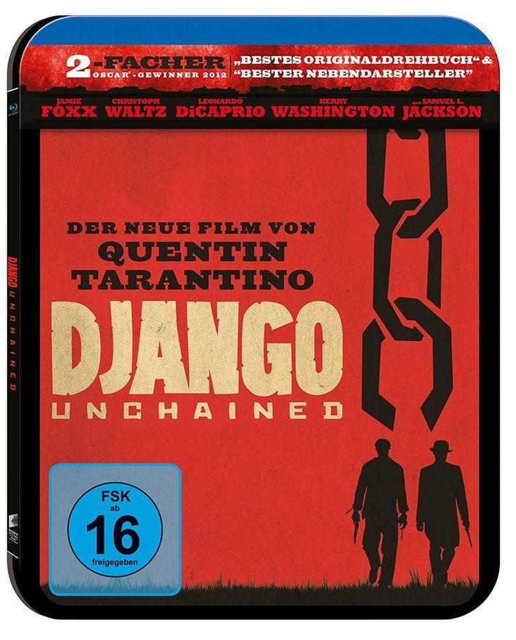 STEELBOOK BLU RAY - DJANGO UNCHAINED NEU OVP in Filme & DVDs, DVDs & Blu-rays   eBay!