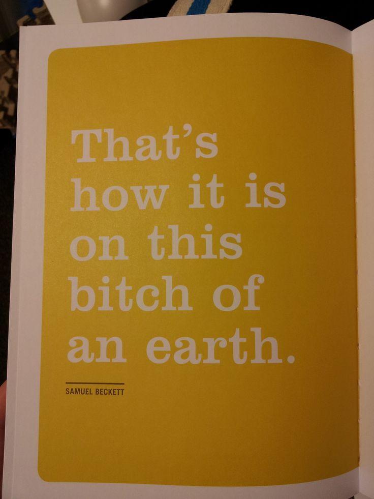 Samuel Beckett, 'Waiting for Godot' | #quote