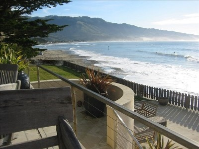 Bolinas ocean front home for rent - formerly Grace Slick's pad!