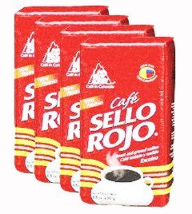 Cafe Sello Rojo 500 grs 176 oz 4Pack ** Want additional info? Click on the image. (This is an affiliate link and I receive a commission for the sales)