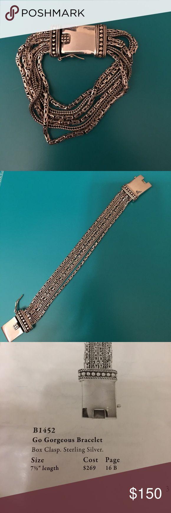 Silpada designs go gorgeous sterling silver Silpada designs go gorgeous sterling silver bracelet. Never worn. Silpada Jewelry Bracelets