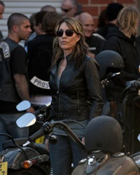 Katey Sagal as Gemma on Sons of Anarchy - she plays one bass ass chick