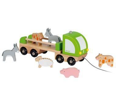 autíčko a zvířátka