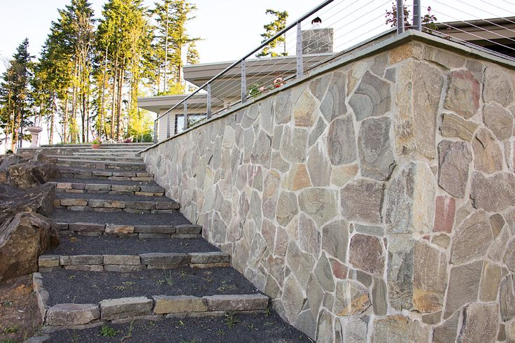 Natural Stone Construction : Best images about bbm our projects stone veneer on
