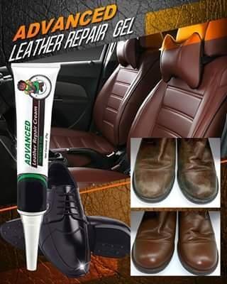 Advanced leather repair gel video video in 2021