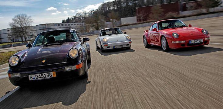 Отмечаем 50-летие Porsche 911 на30 кадрах всекунду