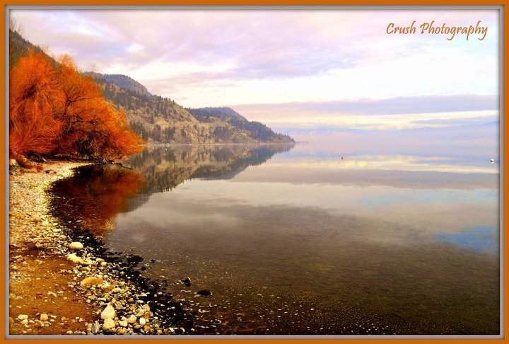 Peachland Fall colors, reflections on the Lake :) www.facebook.com/crushonphotography