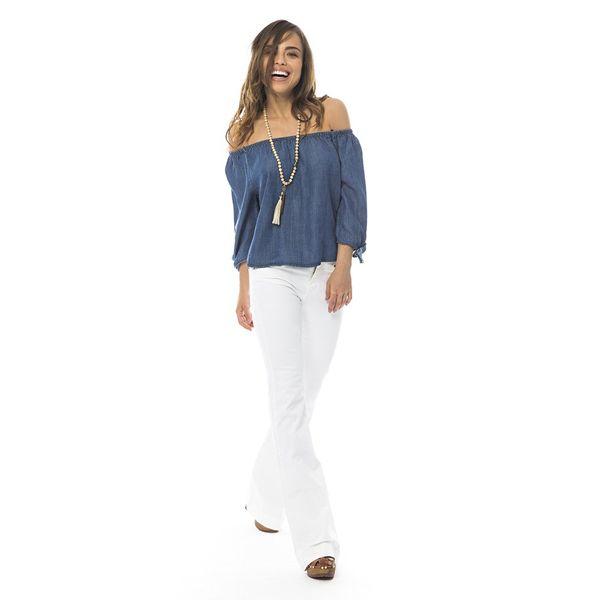 Pantalone zampa by #iamstores disponibile in saldo sullo store online >>http://iamstores.com/prodotto/pantalone-zampa-color-pamela/