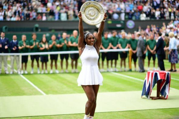 Wimbledon, England – July 9, 2016 – AELTC: Serena Williams competing within the Ladies's singles Finals match through the one hundred and thirtieth version of the Wimbledon Championships (Photograph by Scott Clarke / ESPN Photographs)    Serena Williams and Stephen Curry, two...