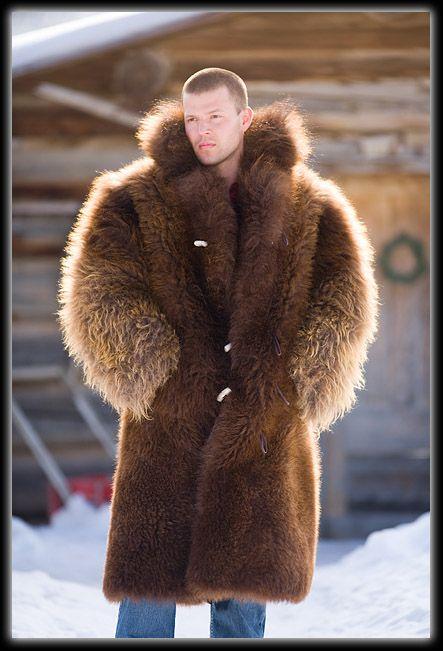 Buffalo Hide Coat
