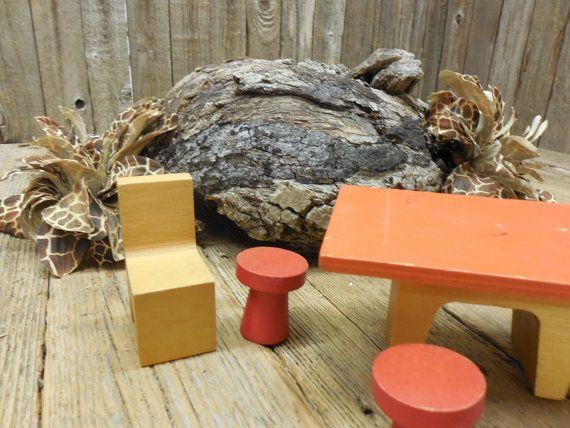 Creative Playthings Mid Century Modern Wooden door TheRustyChicken