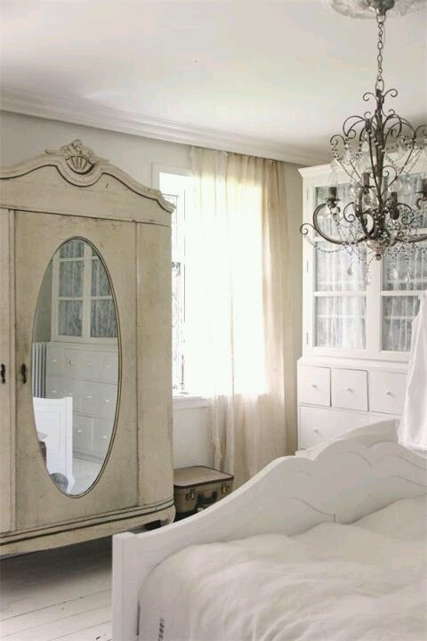 love the cabinet in the bedroom