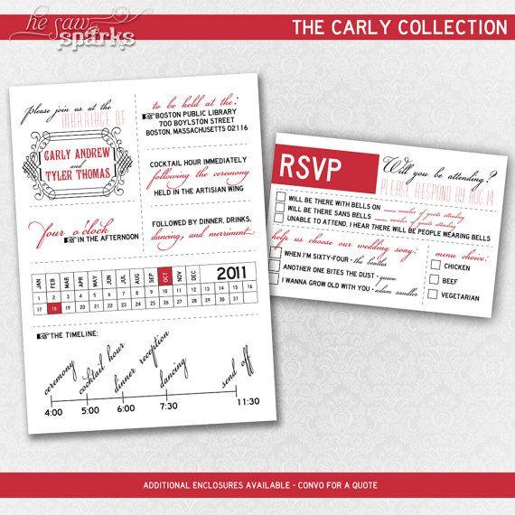 Love the RSVP options!: Wedding Ideas, Funny Invitations, Wedding Invitations, Invitation Ideas, Art Deco Invitations, Invitation Suite, Beach Wedding, Diy Wedding, Printable Art