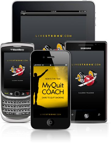 livestrong apps to help you stay healthy.  Calorie tracker and Txt-2-Eat