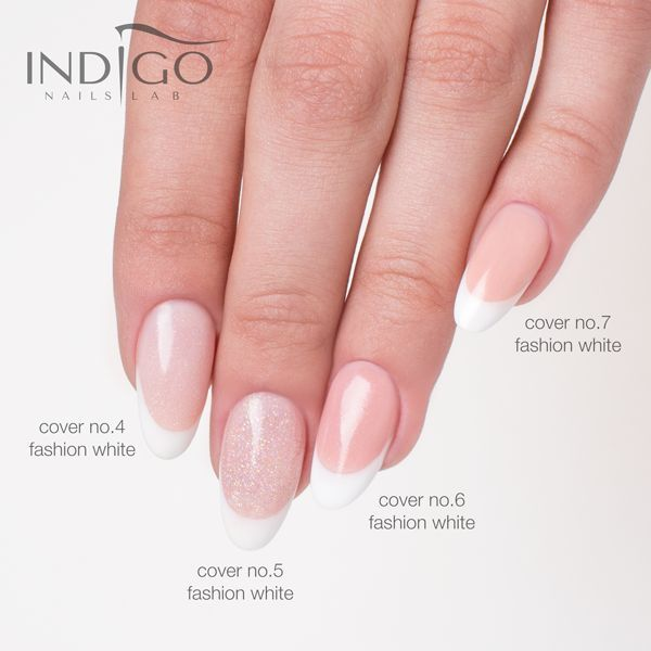 Cover No.5 by Paulina Walaszczyk Indigo Educator #nail #nail #manicure #french #classy #natural