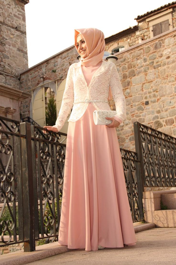Pudra Elbise - Pınar Şems - Tesetturadresi www.tesetturadresi.com
