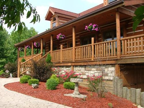 55 best Log Homes images on Pinterest Log homes Log cabins and Logs