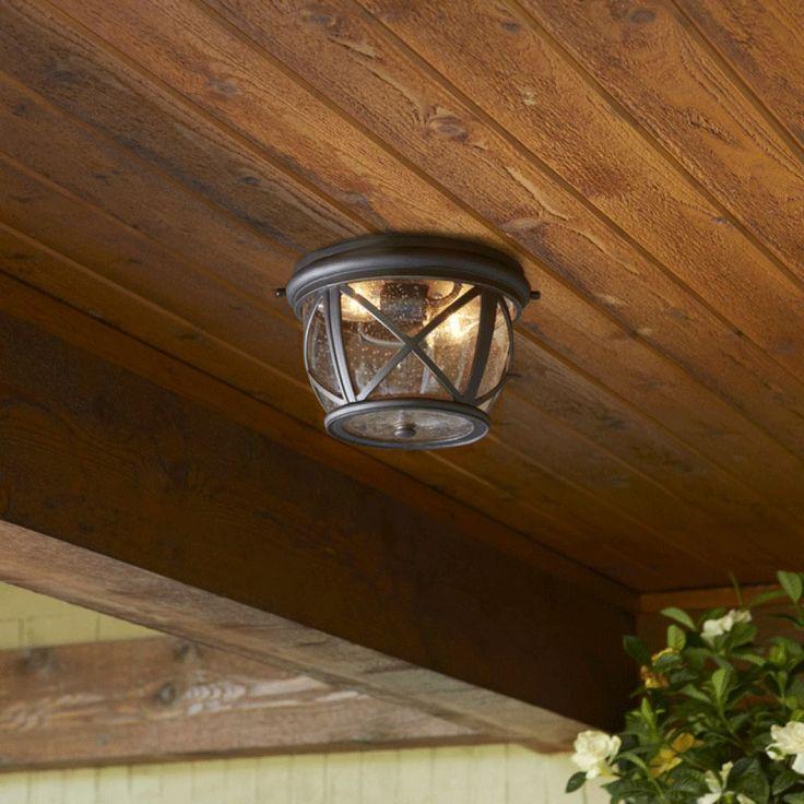 Small Ceiling Flush Mount Lighting : Using Outdoor Flush Mount Lighting