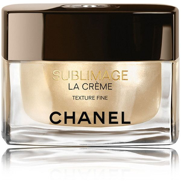 CHANEL SUBLIMAGE LA CRÈME Ultimate Skin Regeneration Texture Fine 1.7... ($390) ❤ liked on Polyvore featuring beauty products, skincare, face care, face moisturizers, anti aging face moisturizer, chanel and face moisturizer