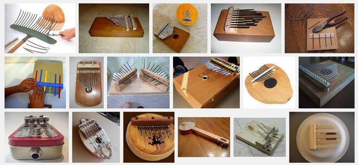 kalimba  DIY musical instrument // como hacer una kalimba
