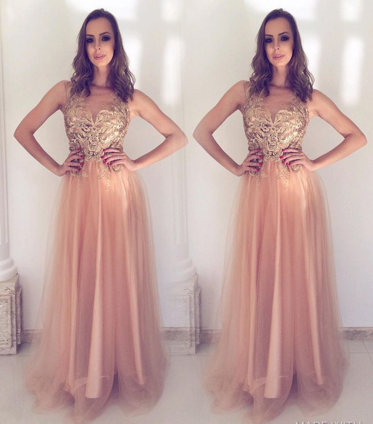 19 best VESTIDOS LONGOS images on Pinterest | Ball gown, Prom ...
