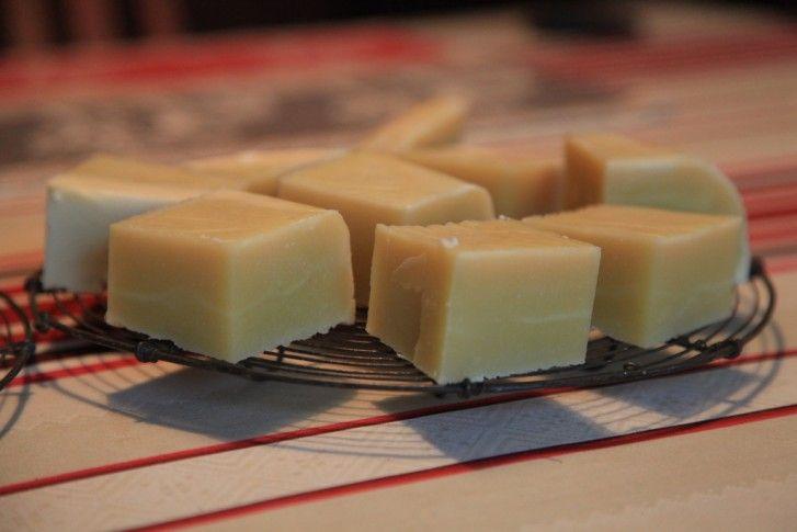 Sapone fatto in casa, la ricetta della nonna. cenere di legna anzichè soda caustica.