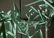 Saffron Te Ratana, Ngataiharuru Taepa, Hemi Macgregor, Ka Kata Te Po, detail, 2011, installation with painted cardboard and fibreglass figur...