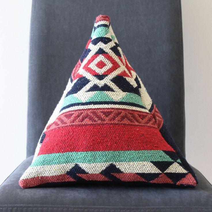 Triangular Kilim Cushion