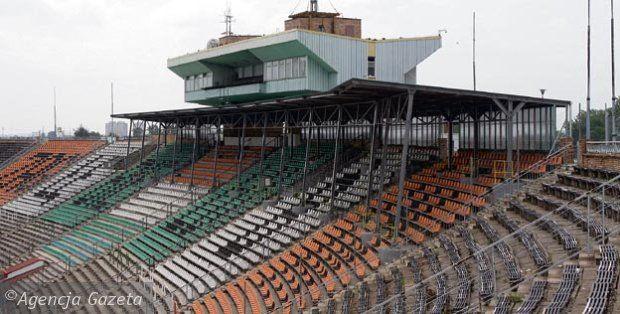 Old stadium, Zaglebie Lubin