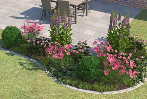 Beet Ganz Einfach Anlegen Gestalten Obi Gartenplaner Garten Stauden Garten Pflanzen