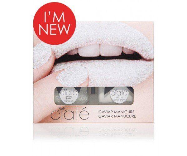 Neglelak fra Ciaté - Caviar Manicure Set - Mother of Pearl #nails #nailpolish