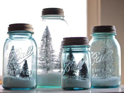 Cute idea for mason jars