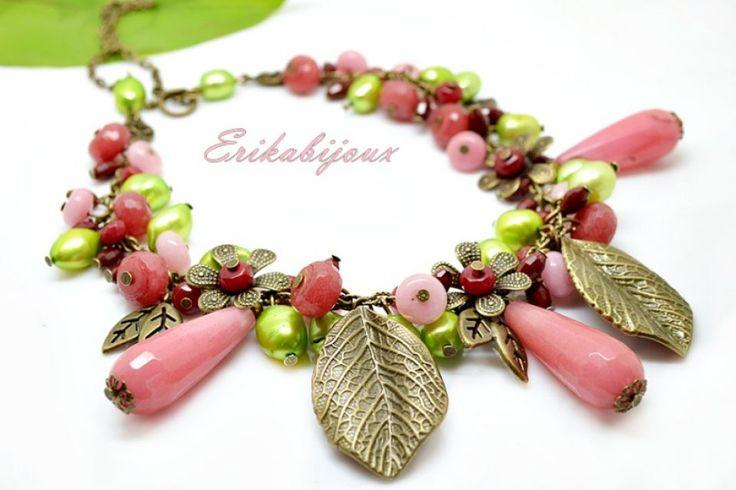 80 LEI | Coliere handmade | Tg mures | Stoc epuizat, mai multe Bijuterii in magazinul E.boutique pe Breslo.