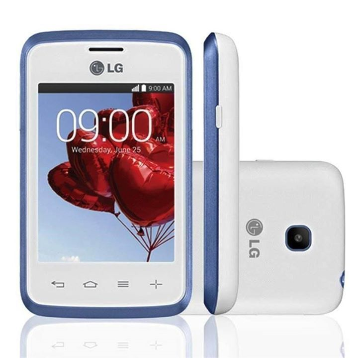 "LG L20 D100 Λευκό   Χαρακτηριστικά  Τεχνολογία 3G Συχνότητα GSM 850/900/1800/1900, HSDPA 900 / 2100 Οθόνη 3"" Capacitive 320 x 240 Ενσωματωμένη μνήμη 4GB Μνήμη RAM 512 MB Λειτουργικό σύστημα Android 4.4.2 (KitKat) Επεξεργαστής Dual Core 1.0 GHz Cortex-A7 (Mediatek MT6572M) Κάρτα μνήμης microSD Κάμερα 2 Megapixel Εγγραφή βίντεο 480p Ασύρματη διασύνδεση Wi-Fi 802.11 b/g/n, Wi-Fi Direct, hotspot Ασύρματη επικοινωνία 4.0, A2DP GPS Yes, with A-GPS, GLONASS Ειδοποίηση με δόνηση Ναι Πρόσθετα…"