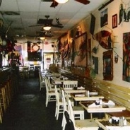 Moirs Food Shack in Jupiter, FL  great food lousy ambiance...in fact take out, don't eat in!!