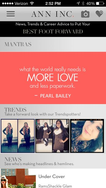 Best Fashion Apps for iPhone and Android - Read what the socialite's closet has to say about our Careers Fashion App!