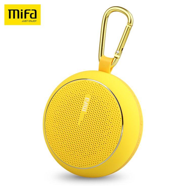 2016 Новое Прибытие Mifa F1 Беспроводной Bluetooth-спикер Открытый сабвуфер Портативный Мини Громкоговорители Бумбокс Супер Нч-Динамики