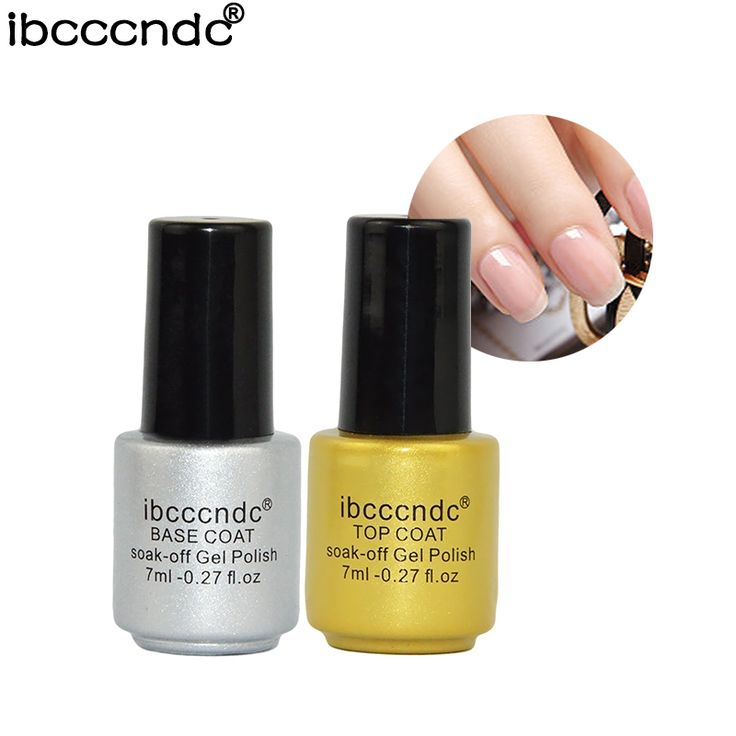 Nail Gel 2  Top Base Coat Gel Nail Polish Semi Permanent Primer Varnish Soak-off Gel Nails Lak Varnishes Gelpolish Vernis Acrylic Builder  *** AliExpress Affiliate's Pin. Click the VISIT button to enter the website