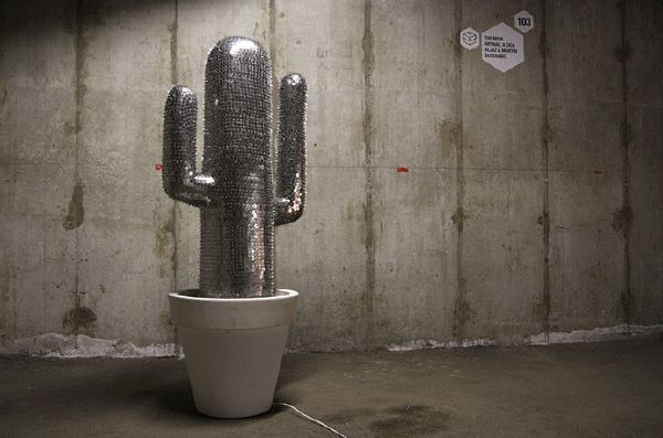 A Thumbtack Cactus by The Miha Artnak | 21 Works Of Art For The Office Supply Fetishist In You